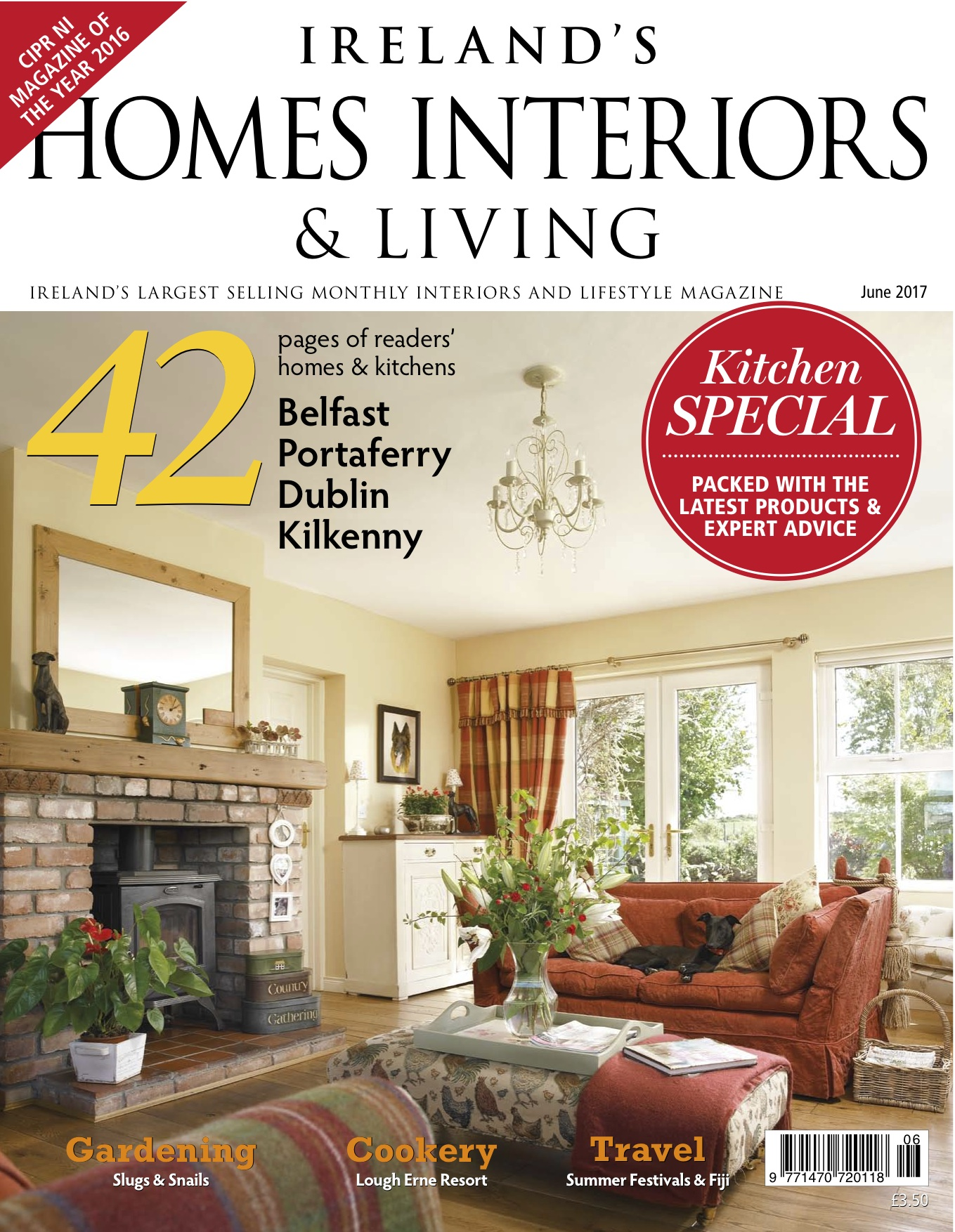 article in ireland s homes interiors living magazine curlew